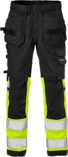High vis craftsman stretch trousers class 1 2614 PLUS 1 Fristads Small