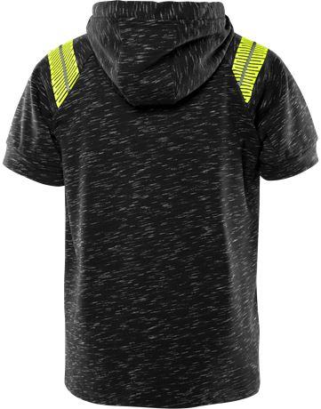 Friwear kortärmad sweatshirt med huva 7460 MELA 3 Fristads  Large
