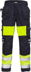 Flamestat high vis craftsman trousers woman class 1 2777 ATHS Fristads Medium