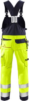 Flamestat high vis Amerikaanse overall klasse 2 1075 ATHS 2 Fristads Small