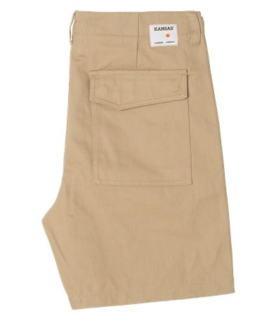 KANSAS X SAMSØE SAMSØE – Worker-shorts, Herren 2 Kansas  Large