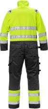High Vis Overall Kl. 3 8026 PLU 2 Fristads Small