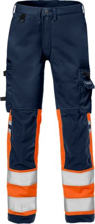High vis stretch trousers class 1 2615 PLUS 1 Fristads  Large