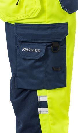 High Vis Handwerker Stretch-Hose Damen Kl. 2 2613 PLUS 8 Fristads  Large