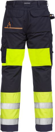 Flamestat high vis werkbroek dames klasse 1 2777 ATHS 2 Fristads  Large