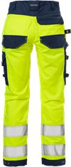 High Vis Handwerker Stretch-Hose Damen Kl. 2 2613 PLUS 4 Fristads Small