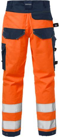 High vis craftsman stretch trousers class 2 2612 PLUS 2 Fristads  Large