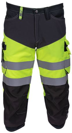 Capri Trousers HiVis Stretch 1 Leijona  Large