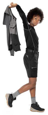 Carbon Semistretch Outdoor Shorts Damen 3 Fristads Outdoor  Large