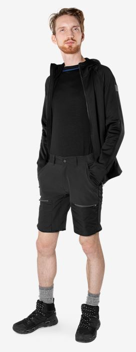Carbon Semistretch Outdoor shorts Fristads Outdoor Medium