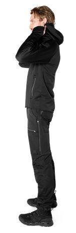 Calcium Polartec® Power Stretch Hoodie  3 Fristads Outdoor  Large