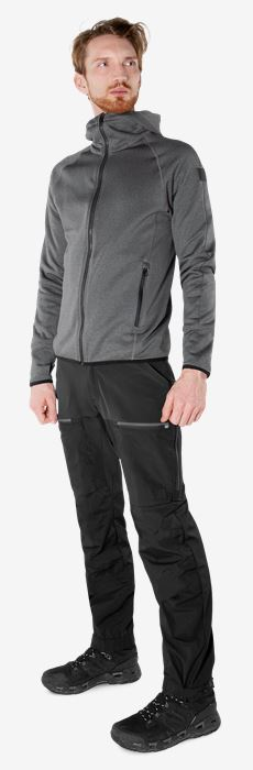 Calcium Polartec® Power stretch hoodie  Fristads Outdoor Medium