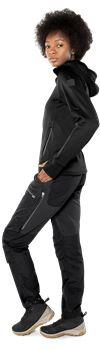 Calcium Polartec® power stretch hoodie, dam 3 Fristads Outdoor Small