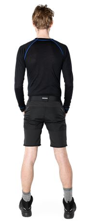 Carbon Semistretch Outdoor Shorts  4 Fristads Outdoor  Large