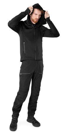 Calcium Polartec® Power Stretch Hoodie  2 Fristads Outdoor  Large
