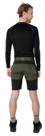 Carbon semistretch friluftsshorts 4 Fristads Outdoor  Large