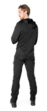 Calcium Polartec® Power Stretch Hoodie  4 Fristads Outdoor  Large