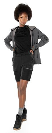 Carbon Semistretch Outdoor Shorts Damen 2 Fristads Outdoor  Large