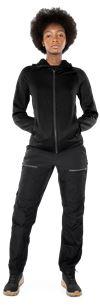 Calcium Polartec® power stretch hoodie, dam 2 Fristads Outdoor Small