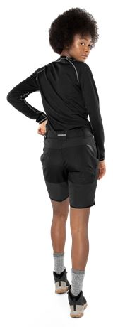 Carbon Semistretch Outdoor Shorts Damen 4 Fristads Outdoor  Large
