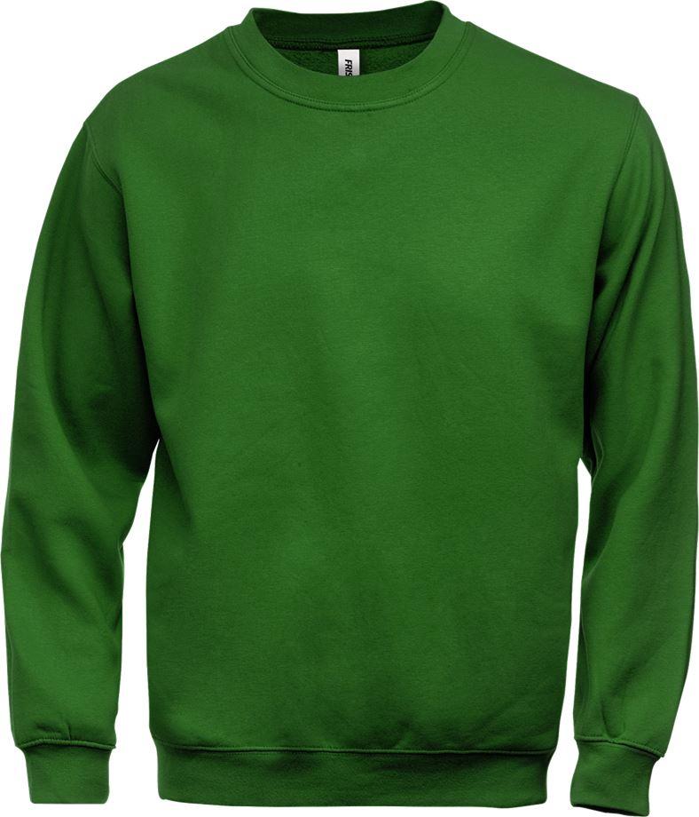Fristads Men's Acode sweatshirt 1734 SWB, Grön