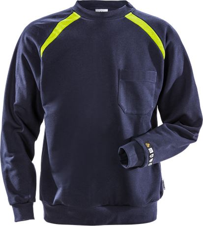 Flamestat sweatshirt 984 SFLA 1 Fristads  Large