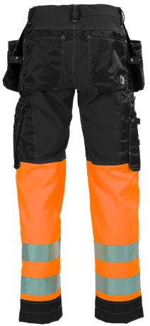 Ladies Tool Pocket Trousers HiVis 3.0 Stretch 2  Large