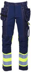 Tool Pocket Trousers HiVis 3.0 Stretch Leijona Medium