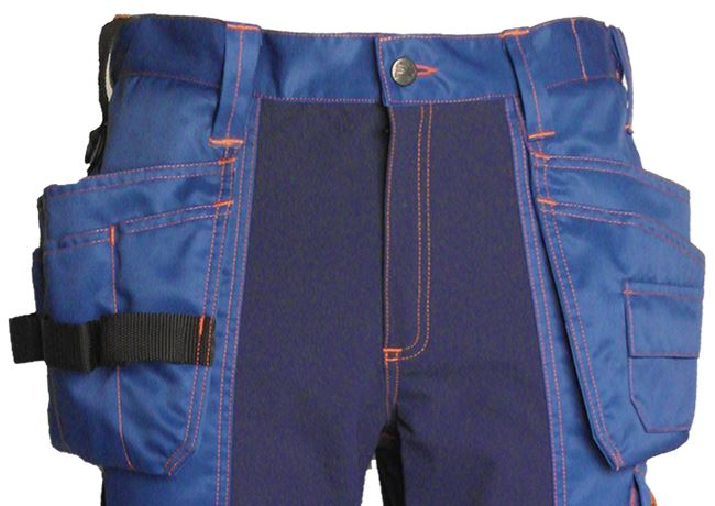 Tool Pocket Trousers HiVis 3.0 Stretch 3 Leijona  Large