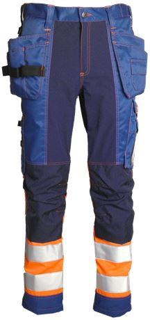 Tool Pocket Trousers HiVis 3.0 Stretch 1 Leijona  Large