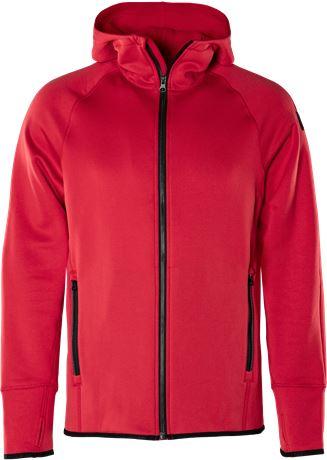 Calcium Polartec® power stretch hoodie 1 Fristads Outdoor