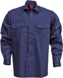 Cotton shirt 7386 BKS Kansas Medium