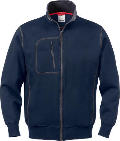 Acode sweatshirt-jacka 1747 DF 1 Fristads  Large
