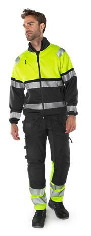 High Vis Handwerker Stretch-Hose Kl.1 2608 FASG 6 Fristads  Large
