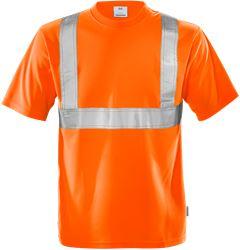 Varsel T-shirt 7411 TP, klass 2 Fristads Medium