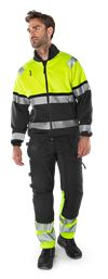 High vis craftsman stretch trousers class 1 2608 FASG 6 Fristads Small