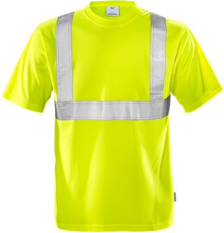 High vis T-shirt klasse 2 7411 TP 1 Fristads  Large