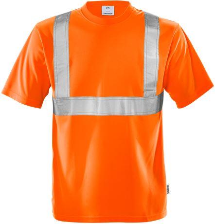 High vis t-shirt class 2 7411 TP 1 Fristads  Large