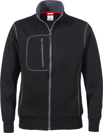 Acode sweat jacket woman 1748 DF 1 Fristads  Large