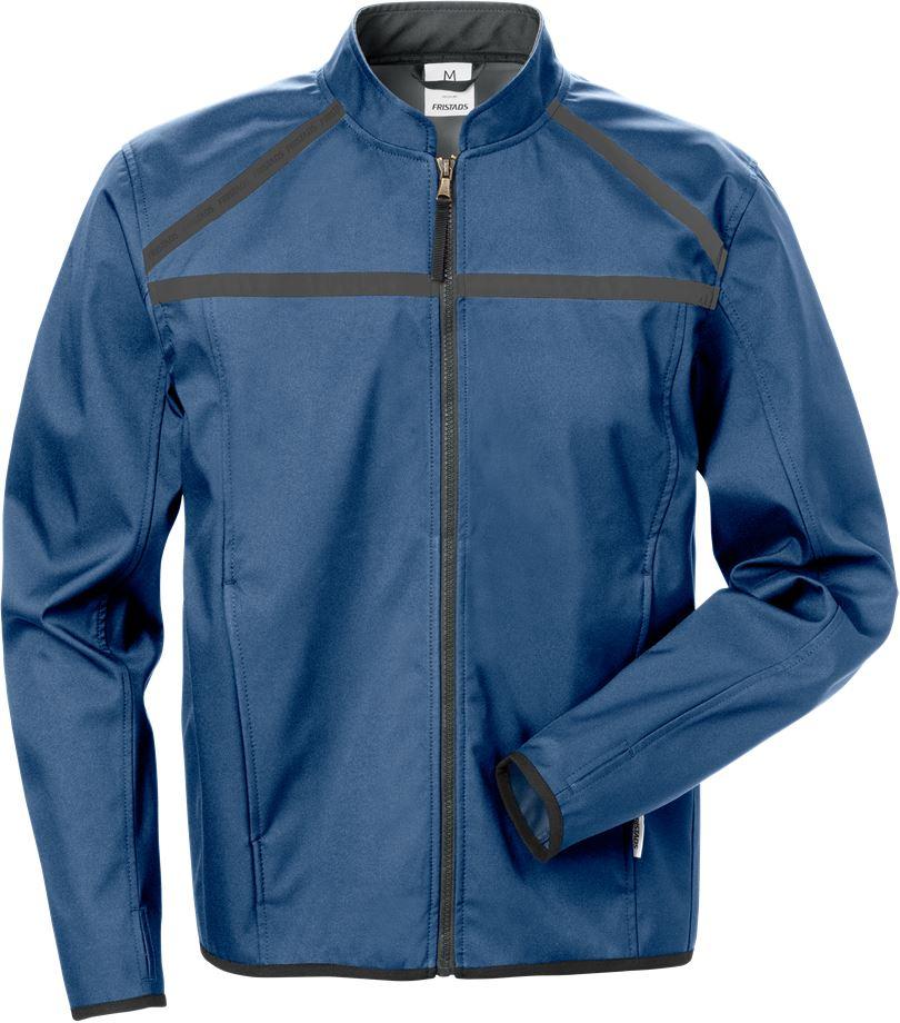 Fristads Men's Softshell-jacka 4557 LSH, Blå