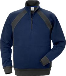Felpa 1/2 zip 1755 DF Fristads Medium