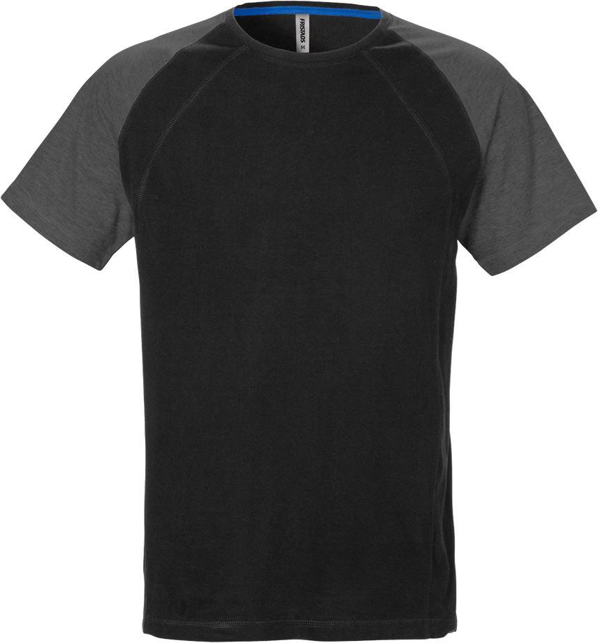Fristads Men's Acode T-shirt 7652 BSJ, Svart/Grå