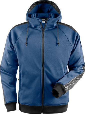Hooded sweat jacket 7464 SSL 1 Fristads  Large