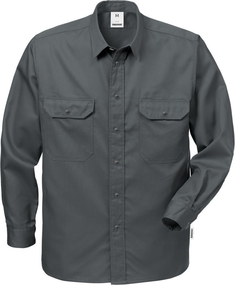 Fristads Men's Skjorta 720 B60, Mörkgrå