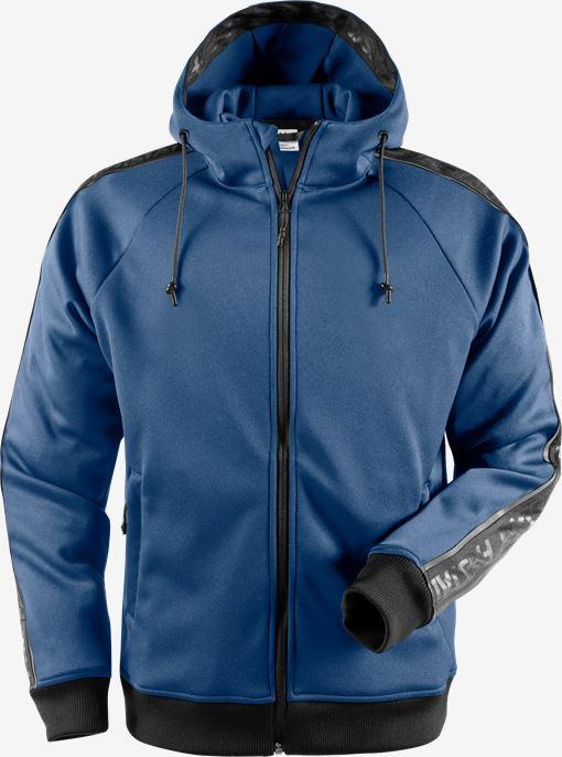 Sweatshirt-jacka med huva 7464 SSL Fristads Medium