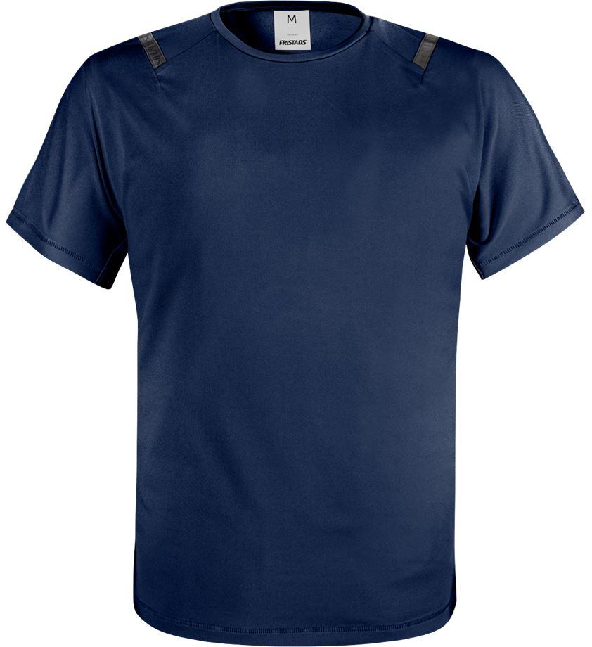 Fristads Men's Green funktions T-shirt 7520 GRK, Mörk marinblå