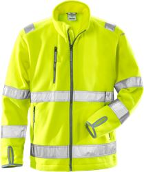 High vis fleece jacket class 3 4400 FE Fristads Medium
