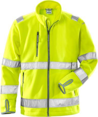 High vis fleece jacket class 3 4400 FE 1 Fristads