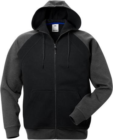 Acode hooded sweat jacket 1757 DF 1 Fristads  Large