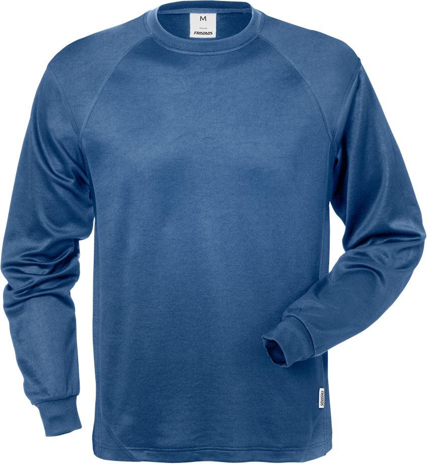 Fristads Men's Långärmad T-shirt 7071 THV, Blå